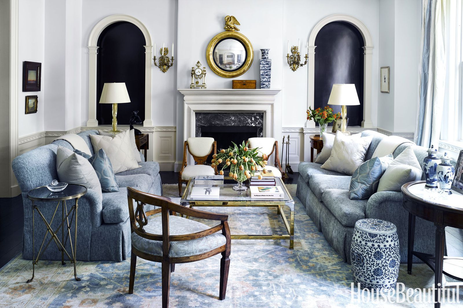 25 French Country Style Rooms With Clever Ideas That Ll Transport Your Home To France French Country Living Room Country Living Room Country Interior Design