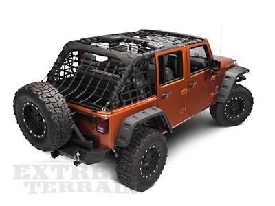 Barricade Complete Netting Kit Kit (07-14 Wrangler JK 4-Door) - Free Shipping