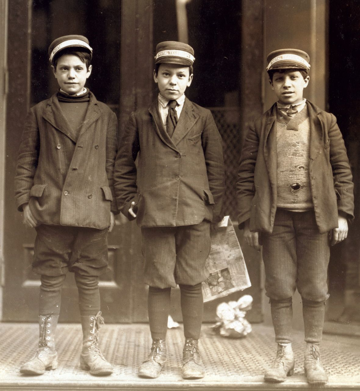 Bygone Boys: Lewis Hine National Child Labor Committee Photo Archive