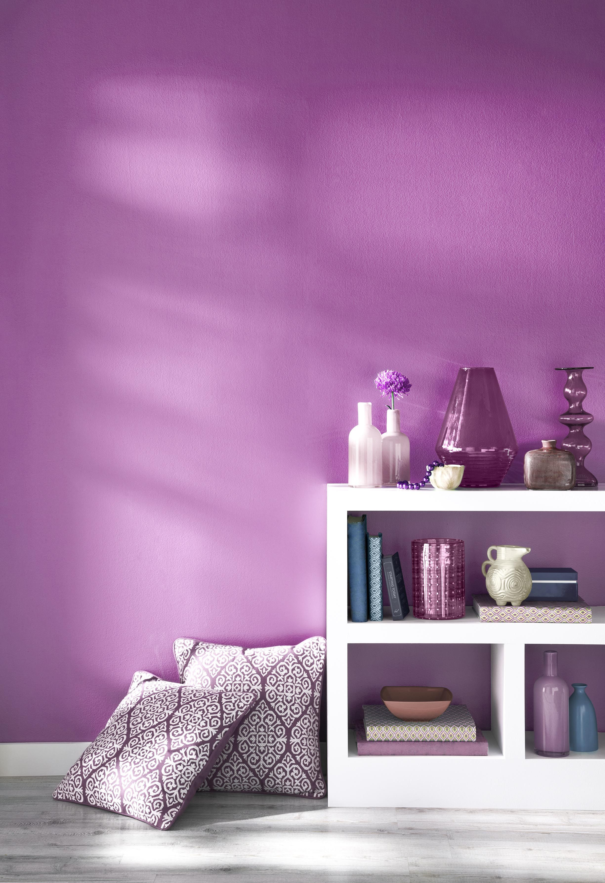 A bright purple Radiant Orchid is 2014 s Pantone colour of the year