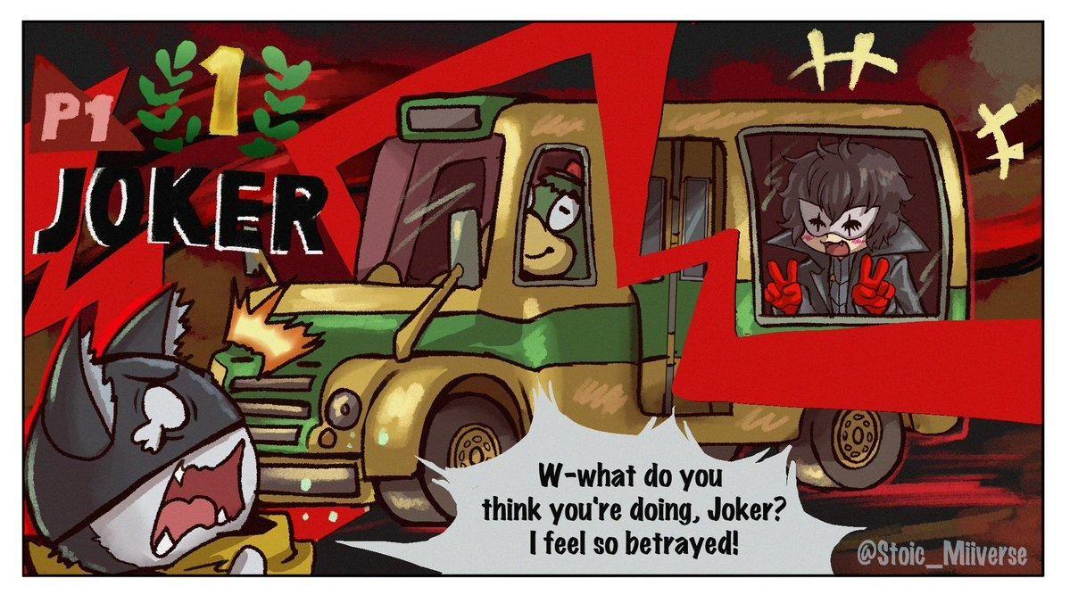 Joker's New Ride Super smash bros memes, Nintendo