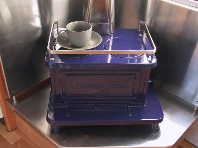 Little Cod marine stove heater | For the deck and yard | Tiny wood