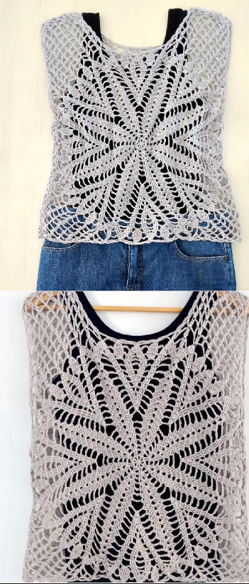 blouse with star | Crochet & Amigurumi Corner - Community board ...