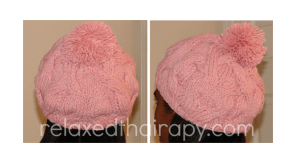 Product Review  Chunky Knit Silk Lined Bobble Hat - http   bit. 890b5c80afe4