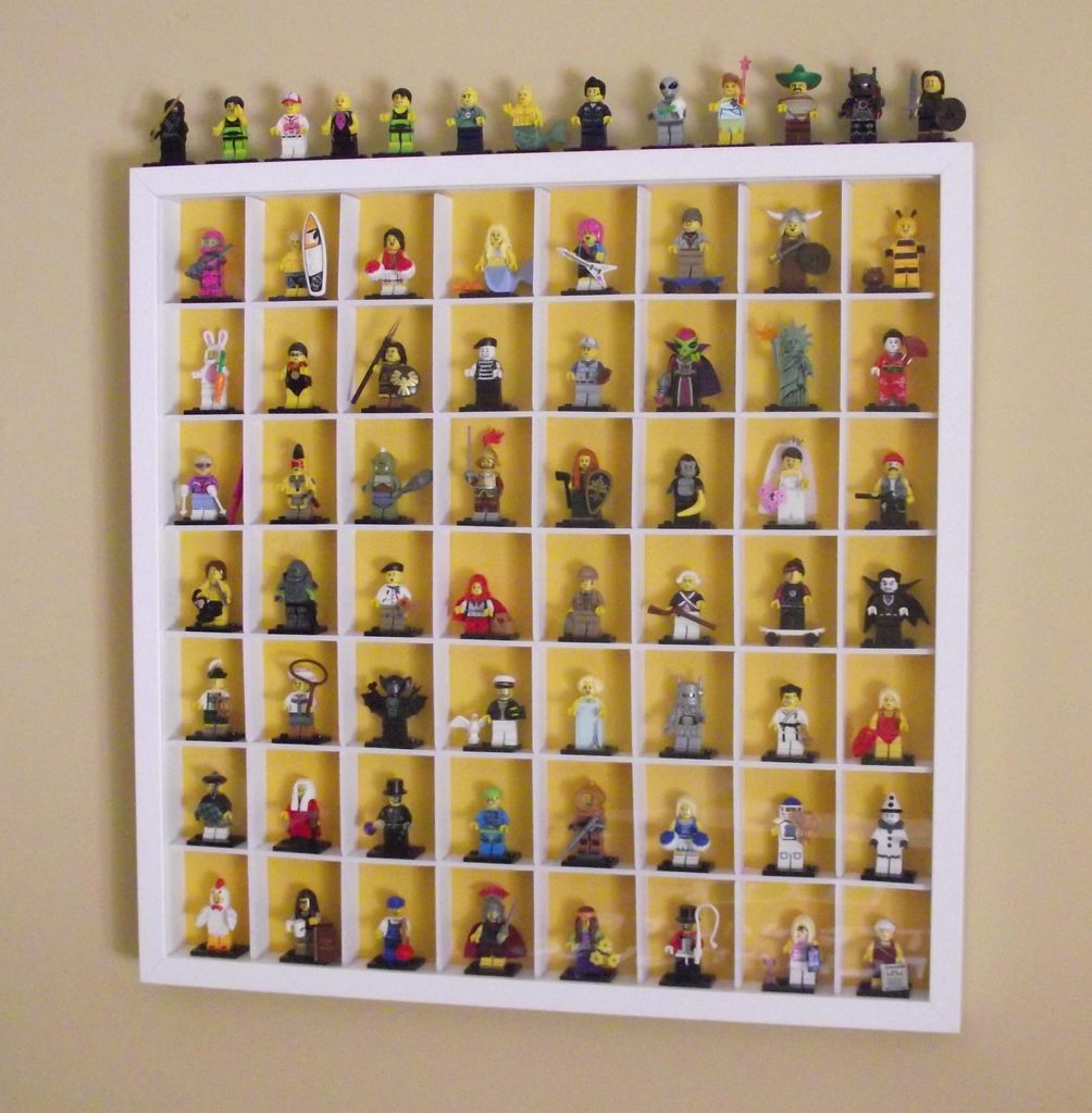 lego minifig case deco pinterest lego rangement lego et deco. Black Bedroom Furniture Sets. Home Design Ideas