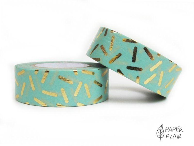 Washi Tape Foil Stracciatella. Paperflair.de