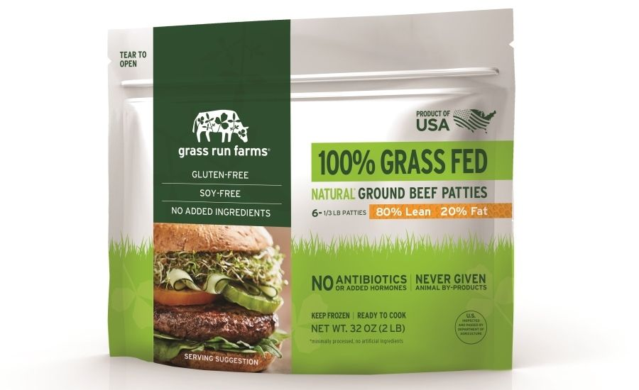 Frozen Meat Patties Launch In Resealable Pouch Packaging Frozen Meat Pouch Packaging Patties