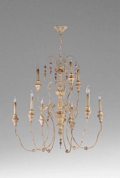 cyan design maison nine light chandelier 04639