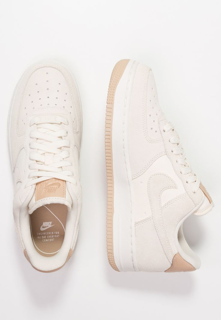 AIR FORCE - Sneakers laag - pale ivory/summit white/tan ...