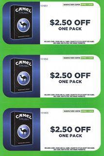 Digital cigarette coupons