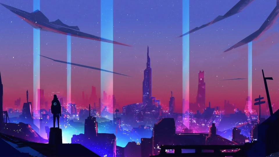 Neon City [1920×1080] 4K