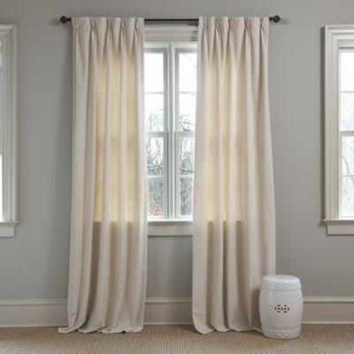 Master Bedroom Set of 2 Double Pinch Pleat 30inW Custom Panels