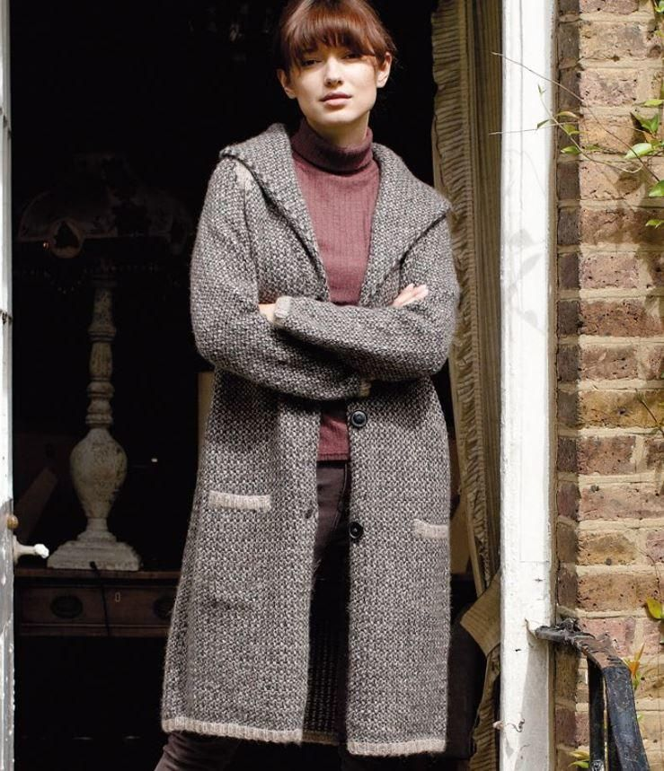 London Morning Knit Cardigan Pattern Knit Clothing Patterns Free