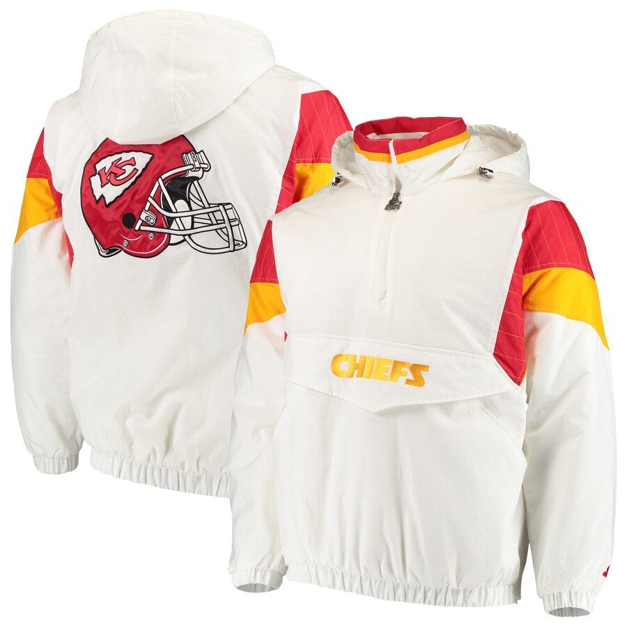 Men S Starter White Kansas City Chiefs Thursday Night Lights Breakaway Jacket Jackets Kansas City Chiefs Chief [ 900 x 900 Pixel ]