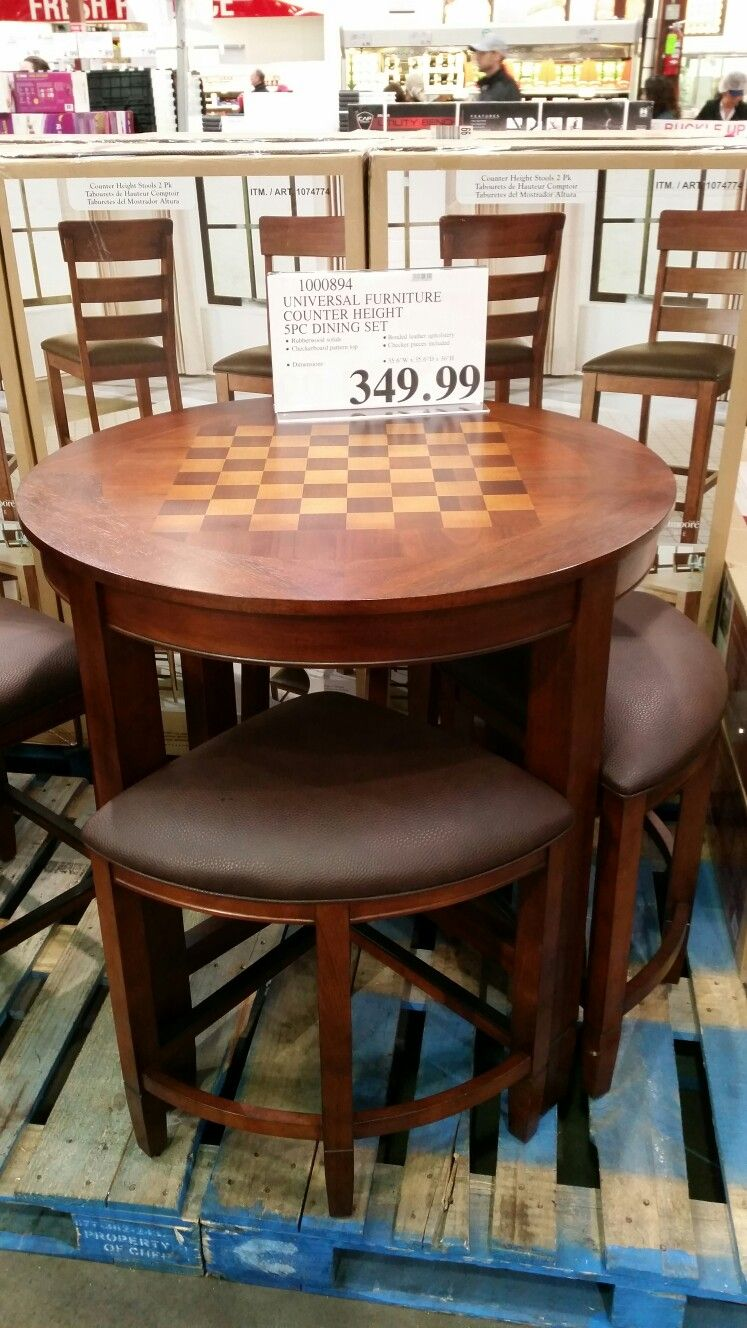 Bar height wood game table (With images) | Universal furniture