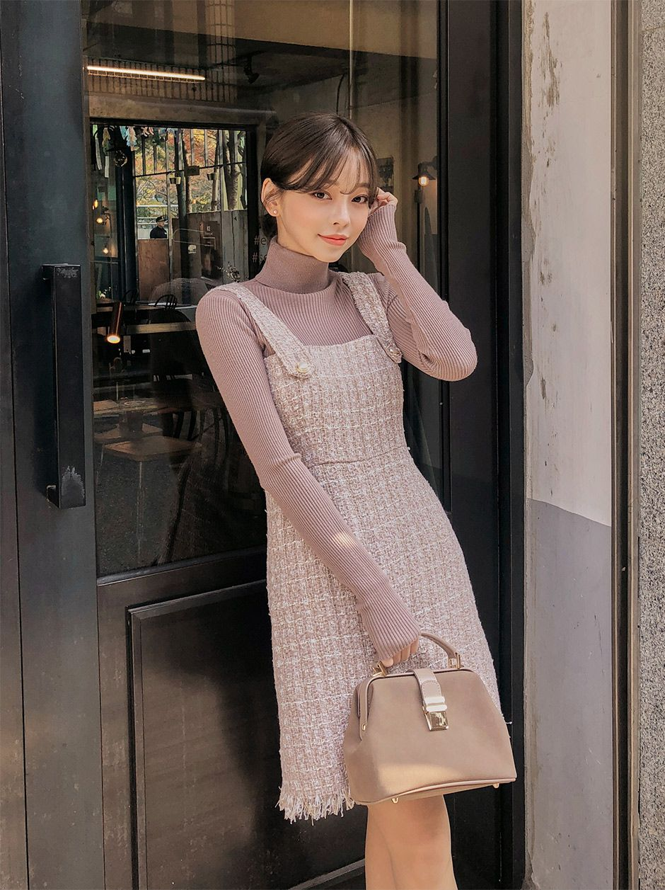 38893e7564a Better Off Alone Tweed Dress - I know you wanna kiss me. Thank you ...