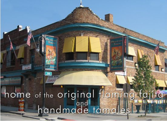Mexican Town Restaurant In Detroit Long Live The Flaming Cheese And Fajita
