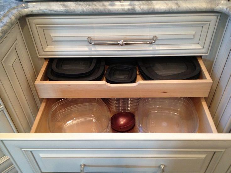 Kitchen Storage Ideas Pinterest Part - 48: Kitchen Drawers On Pinterest | Drawers, Tupperware And Ikea Drawers