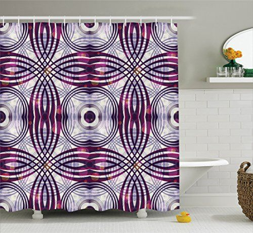 House Decor Shower Curtain Set By Ambesonne, Vintage Styl... Https:/