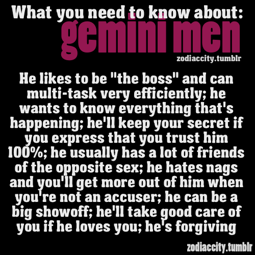 The Gemini Man: Overview & Personality Traits