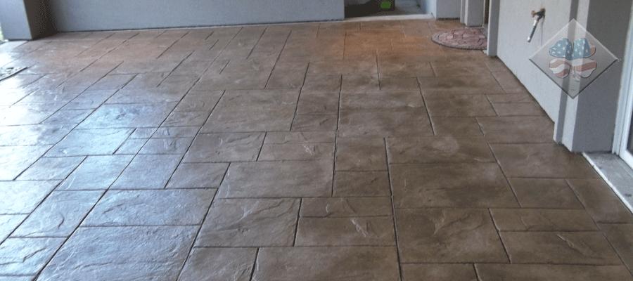 Concrete Work Stamped Concrete Colored Concrete