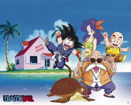 Dragon Ball poster Kame House http://www.abystyle-studio.com/en/dragon-ball-posters/331-dragon-ball-poster-kame-house.html