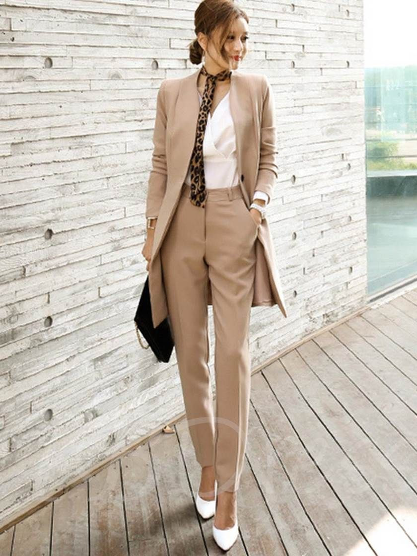 Casual Pant Suits For Ladies