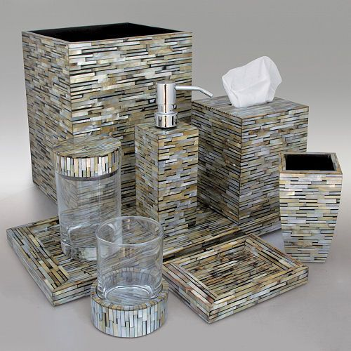 Mosaic Bathroom Accessories   Google Search