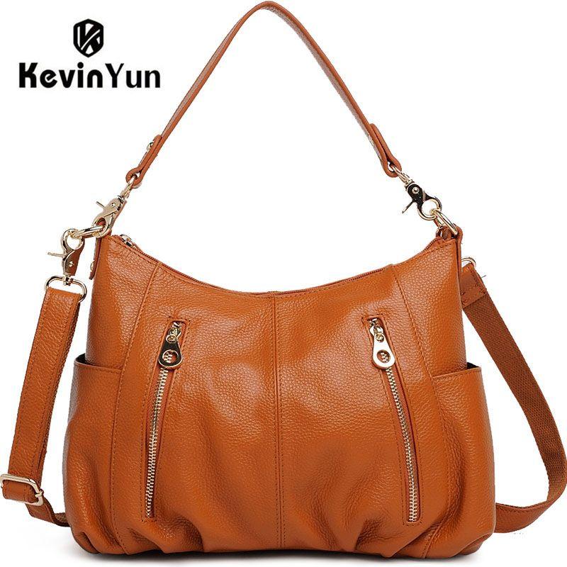 4cb9c2007e16 KEVIN YUN genuine leather bags women leather handbags shoulder bag female  hand bag women messenger bags  Affiliate