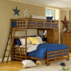 L Shaped Bunk Beds Twin Over Queen