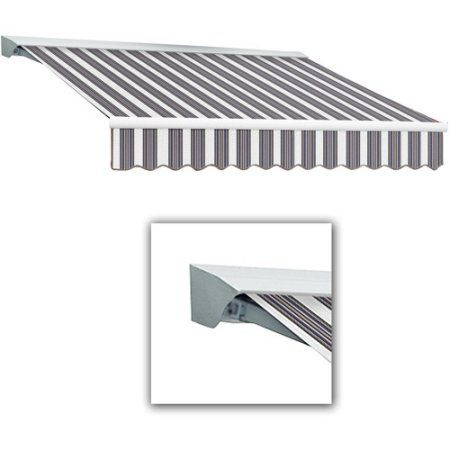 Home Improvement Retractable Awning Remote Framed Fabric