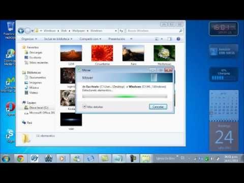 Como Cambiar El Fondo De Pantalla De Windows 7 Starter Sin Descargar Nada Como Cambiar Fondos Fondo