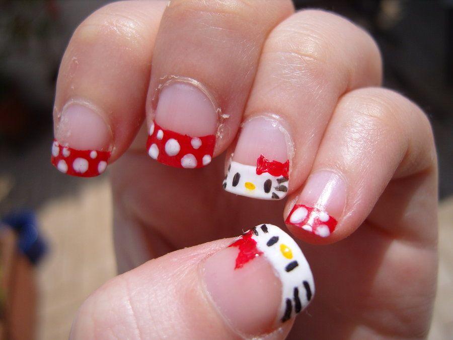 Hello kitty nails hello cute girls cute hello kitty nail art for hello kitty nails hello cute girls cute hello kitty nail art for you prinsesfo Choice Image