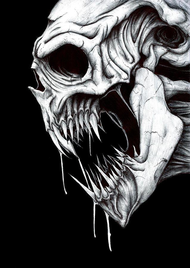 Grim Art Drawings