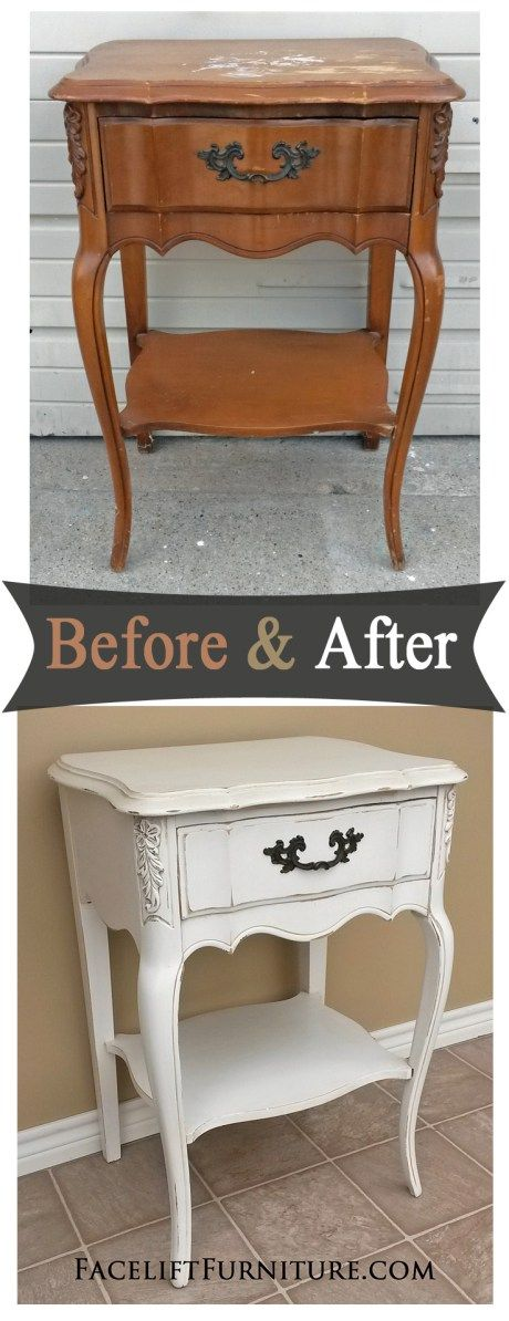 Relooker un vieux meuble style shabby chic vid o 20 exemples faire un jour - Meuble style shabby ...