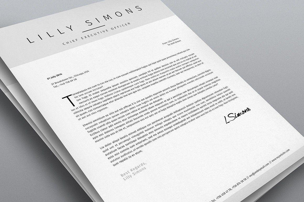Clean Resume Template Vol.3
