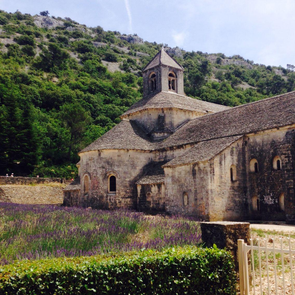My own Abbaye de Sénanque picture! A Pinterest dream came true! marits88