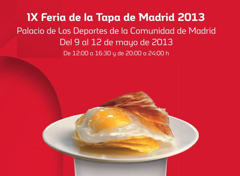 9-12 mayo - Feria de la Tapa de Madrid 2013 @Palacio de los Deportes