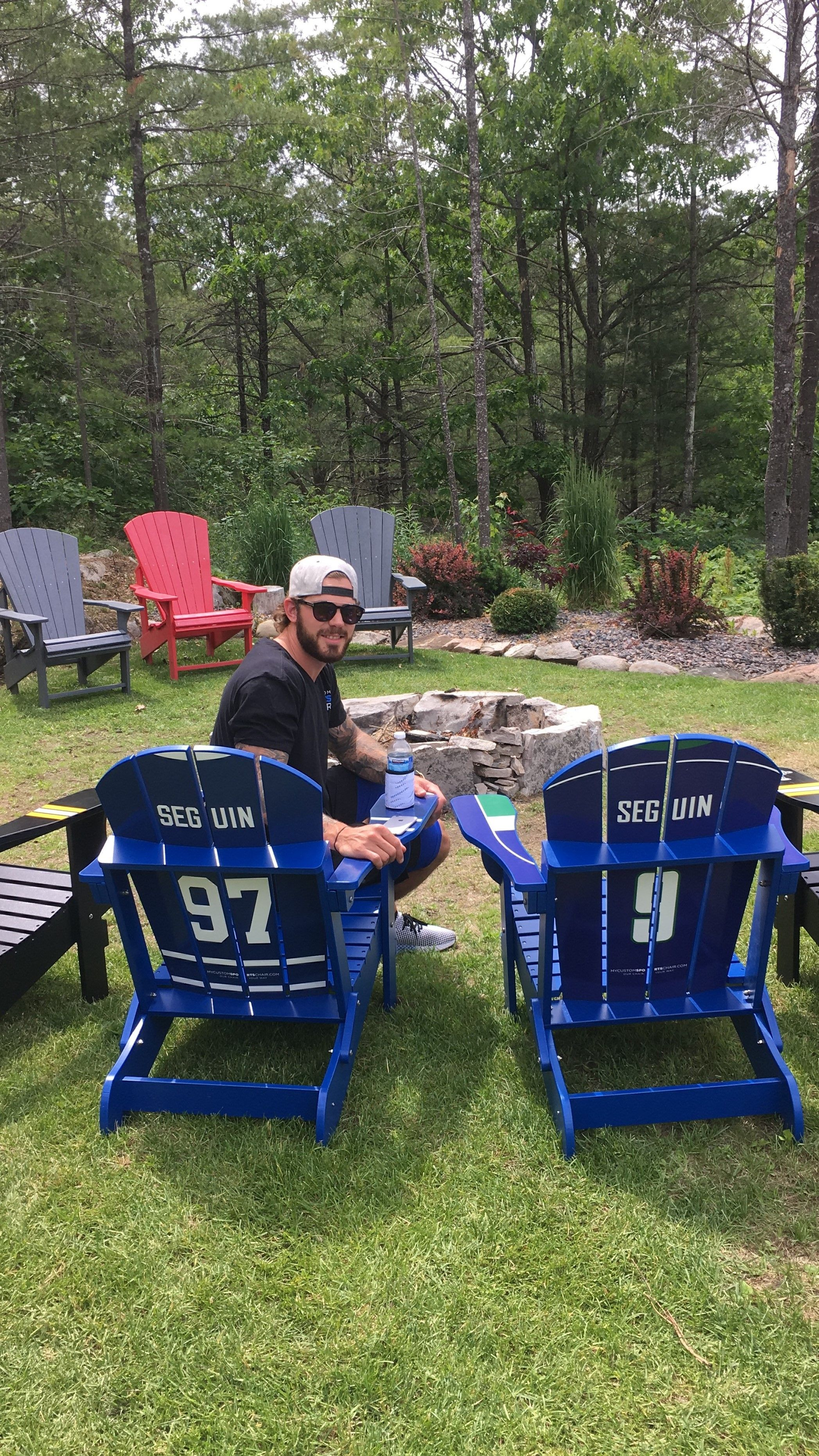 9cb2b05ed6d Tyler Seguin s Custom Sports Chairs