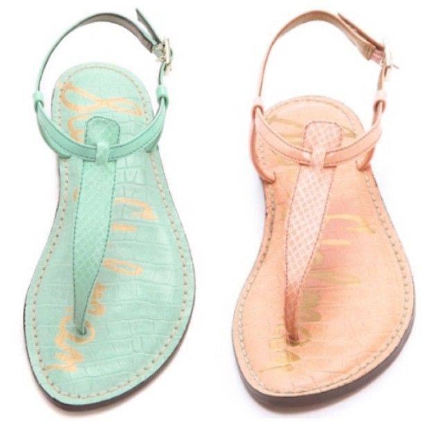 Spring Pastel Sam Edelman 'Gigi' sandals