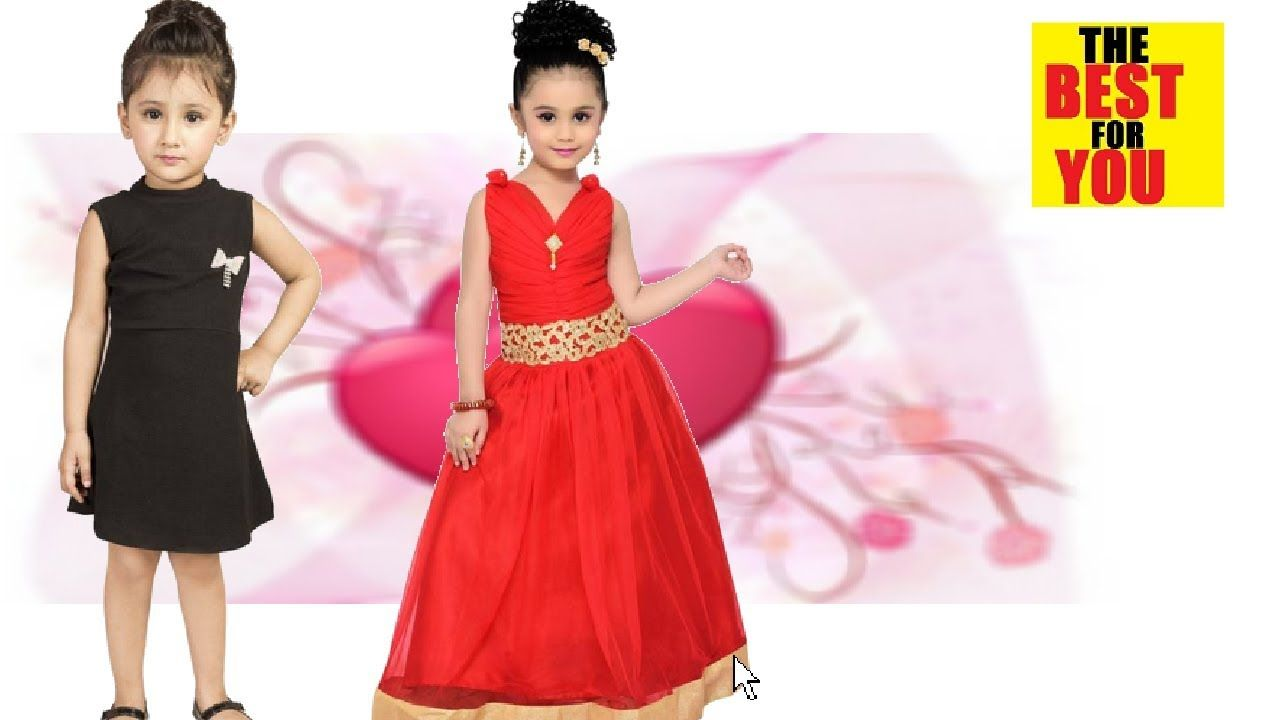 a16b066701 BEST Indian Dresses for Girl Kids Dress Designs in flipkart and amazon s.