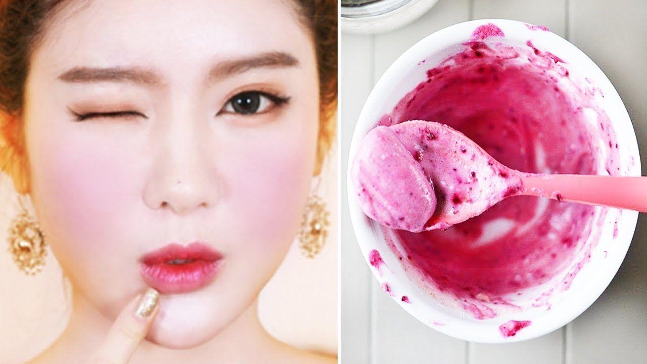 تبييض الوجه و توريد الخدود طبيعيا بدون مكياج لبشرة وردية و بيضاء و ناع Health And Beauty Beauty Hacks Beauty