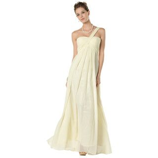 Buy 'YesStyle Dress – One-Shoulder Pleated Sheath Evening Gown' with Free International Shipping at YesStyle.com. Browse and shop for thousands of Asian fashion items from Hong Kong and more!