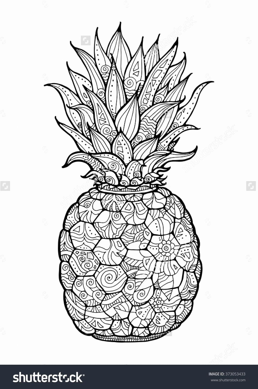 Coloring Pages Of Fruits In A Basket Elegant Coloring Arts 43 Remarkable Pineapple Coloring Sheets Fruit Coloring Pages Mandala Coloring Pages Coloring Books