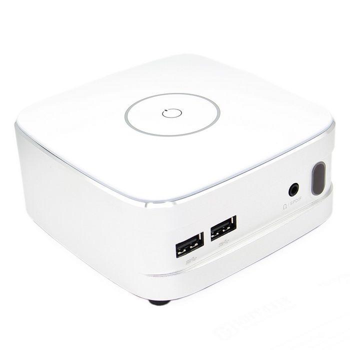 Mini PC Player Kits w/ 4-USB 2.0 Ports, Micro USB, Mini HDMI - White (EU Plug). Find the cool gadgets at a incr