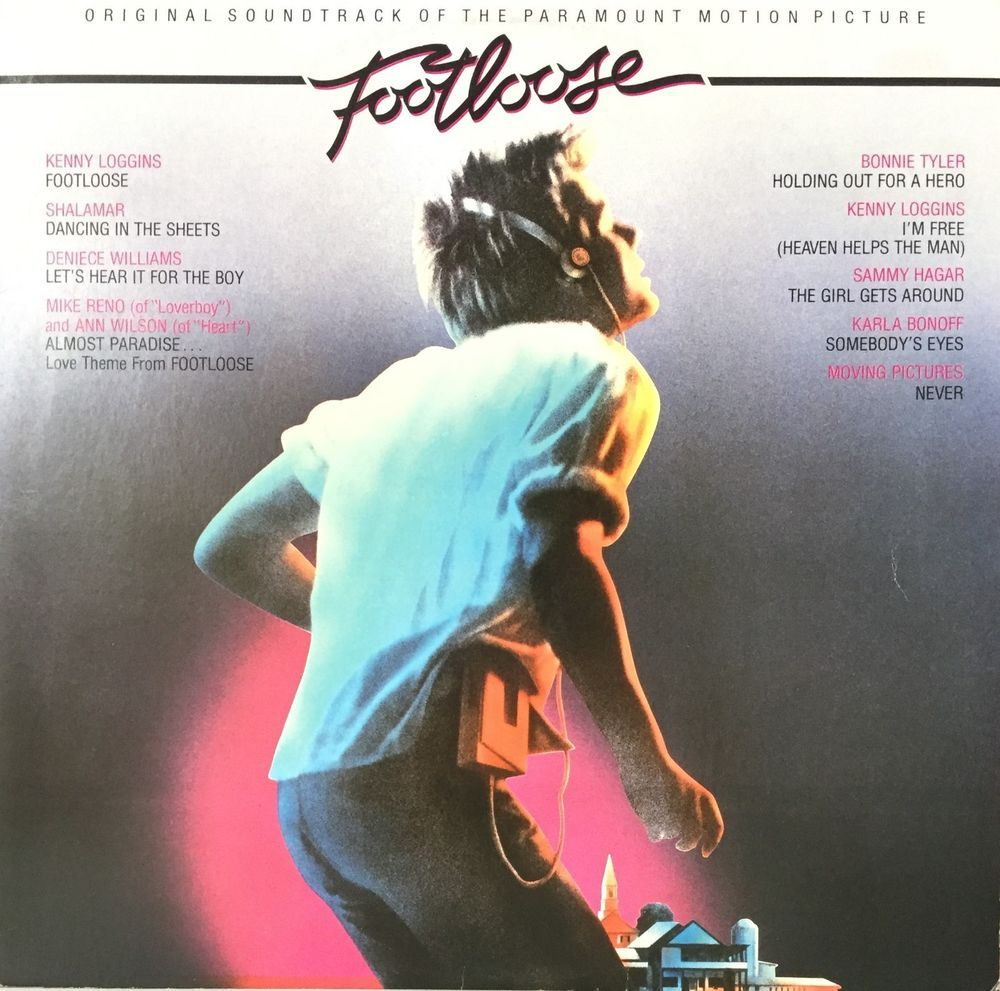 Footloose Soundtrack Lp With Inner Sleeve 1984 Just Like Music