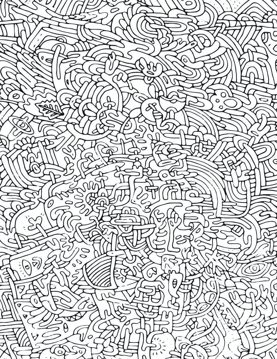 Page de coloriage pour adulte pattern tr s difficile - Coloriage adulte difficile ...