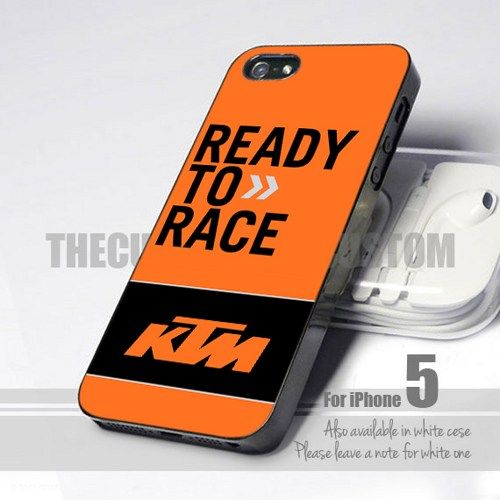 Ktm Ready To Race Motorcycle Logo Iphone 5 5s 5c Leave A Message Motorcycle Logo Ktm Iphone