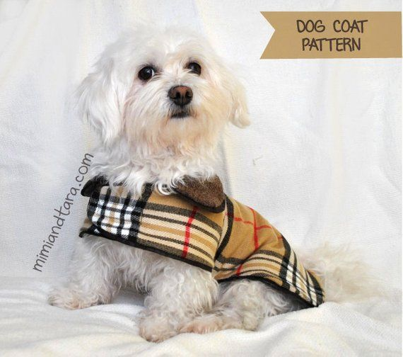 Dog Coat Pattern Bundle All Sizes, Sewing Pattern, Dog Clothes ...