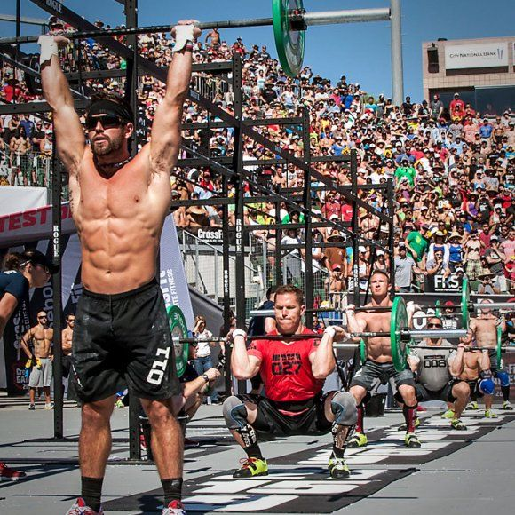 Rich Froning 2013 CrossFit Games Fittest Man on Earth